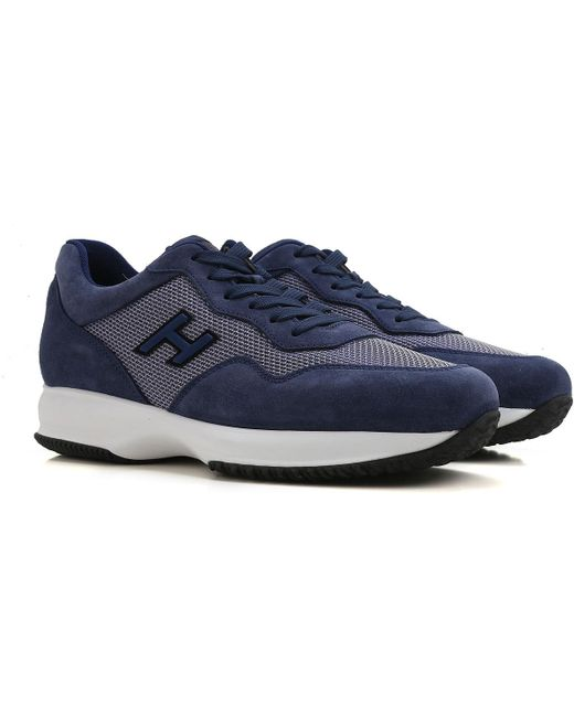 Blue Raffaello Hogan Shoes