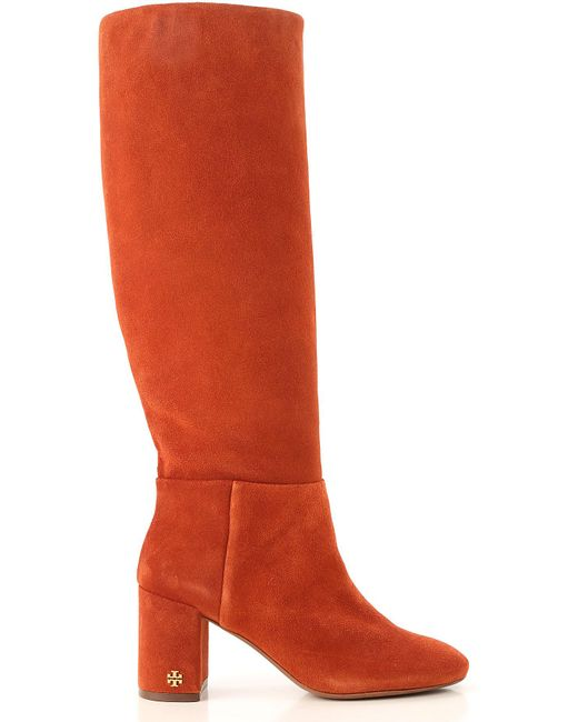 730fe7ca563 Lyst - Tory Burch Boots For Women in Red - Save 18%