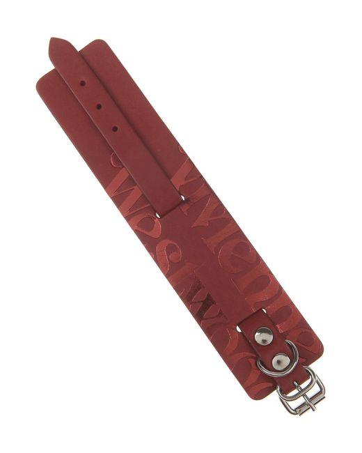 Vivienne Westwood - Red Bracelet For Men for Men - Lyst