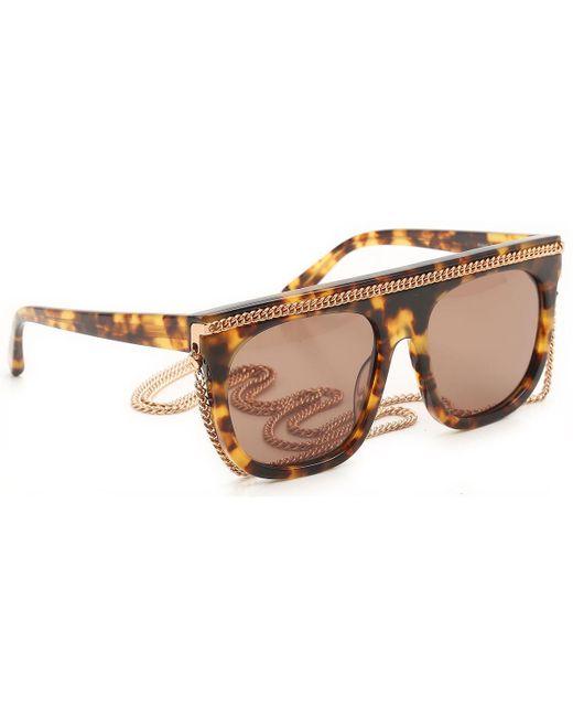 Stella McCartney - Multicolor Sunglasses On Sale - Lyst