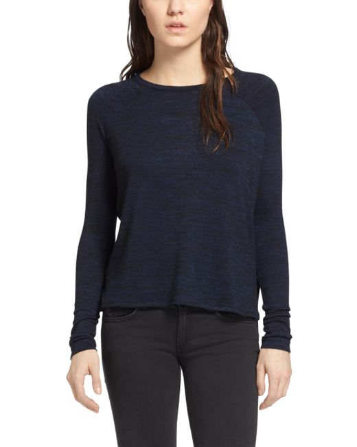 Rag & Bone | Blue Camden Long Sleeve Tee | Lyst