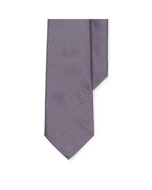 Ralph Lauren Purple Label - Purple Diamond-woven Silk Tie for Men - Lyst