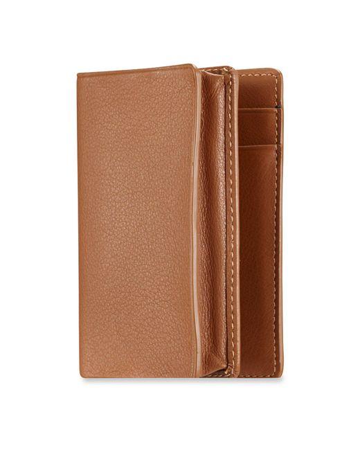 Ralph Lauren - Brown Soft Gents Gusseted Card Case - Lyst