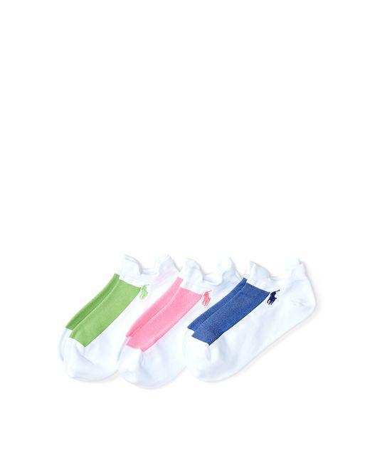 Polo Ralph Lauren | White Microfiber Sport Sock 3-pack | Lyst