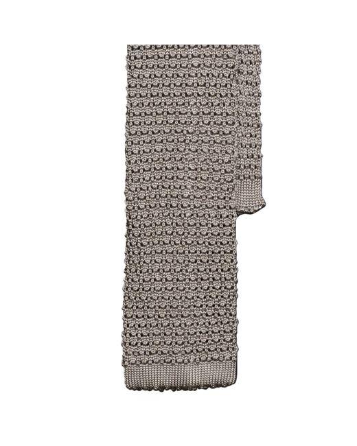 Polo Ralph Lauren | Metallic Solid Knit Silk Tie for Men | Lyst