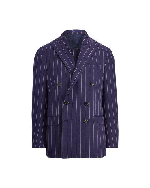 Polo Ralph Lauren - Blue Morgan Striped Suit Jacket for Men - Lyst