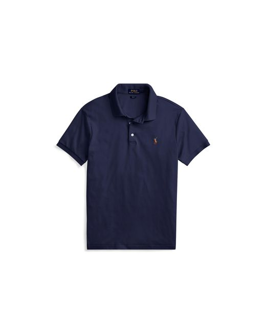 Polo Ralph Lauren - Blue Slim Fit Soft-touch Polo Shirt for Men - Lyst