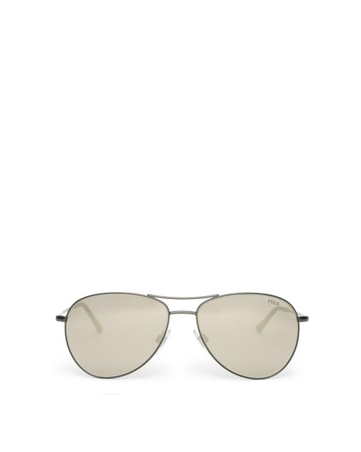 Polo Ralph Lauren | Green American Pilot Sunglasses for Men | Lyst