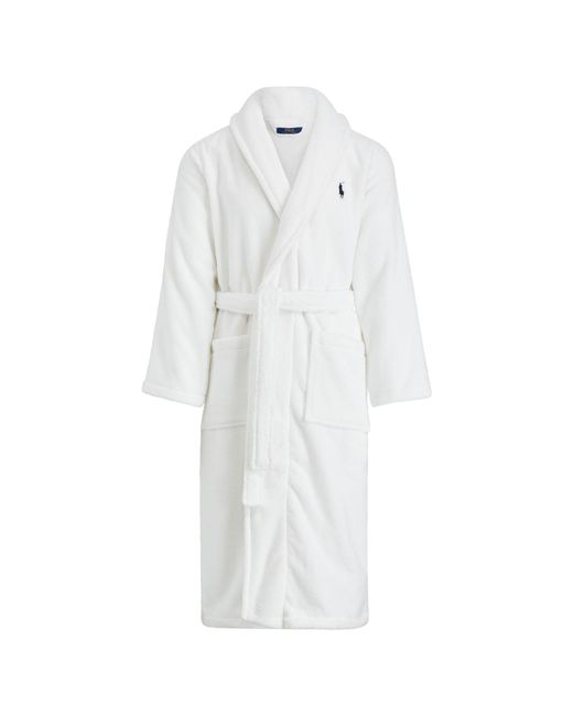 Polo Ralph Lauren | White Shawl-collar Robe for Men | Lyst