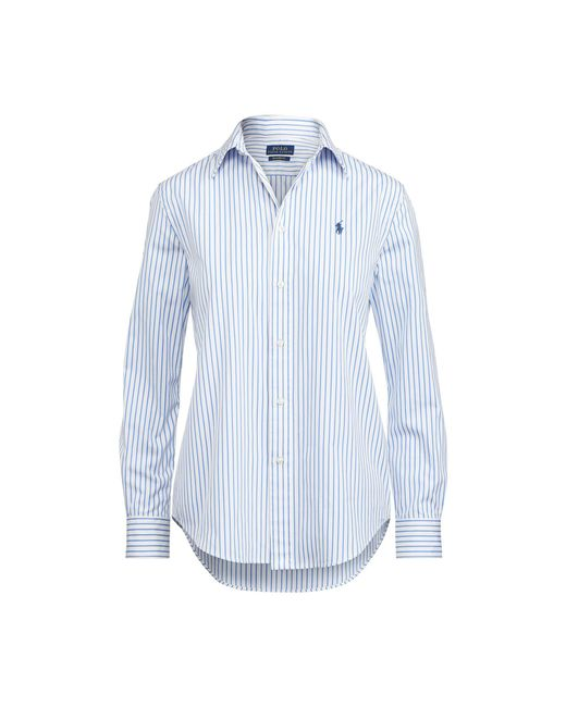 Polo Ralph Lauren | Blue Relaxed Fit Striped Shirt | Lyst