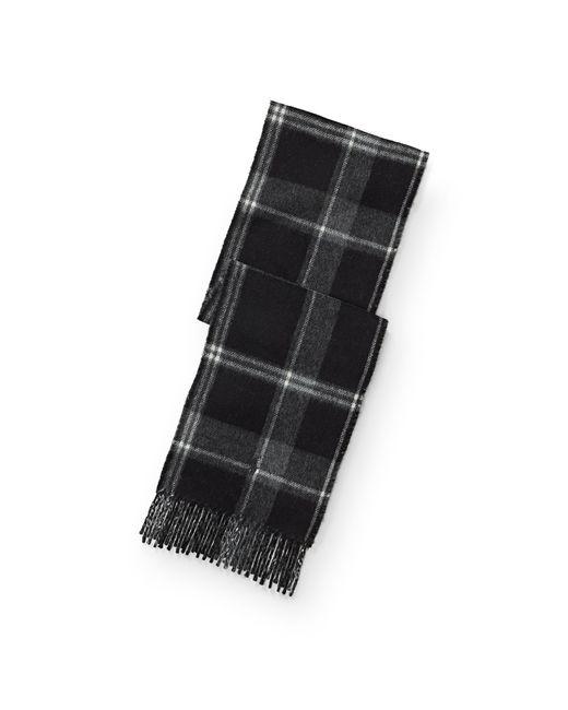 Polo Ralph Lauren | Black Plaid Wool-blend Scarf | Lyst