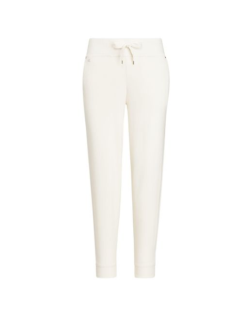 Ralph Lauren - Natural Cotton French Terry Jogger - Lyst