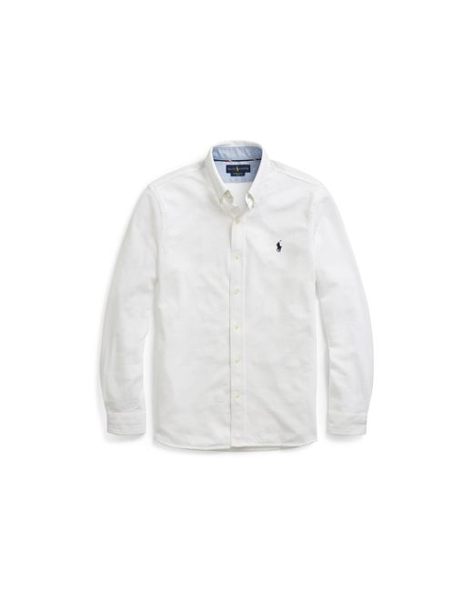 Polo Ralph Lauren - White Featherweight Mesh Shirt for Men - Lyst