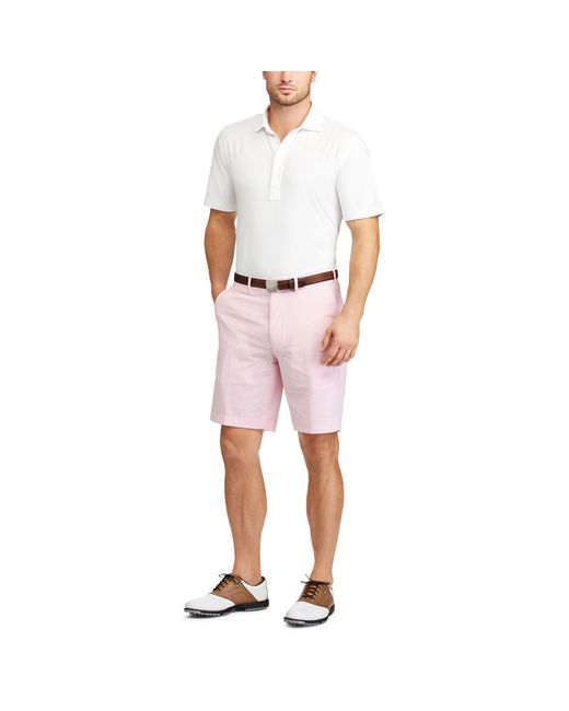 9c446aec0a Lyst - Ralph Lauren Active Fit Stretch Lisle Polo in White for Men