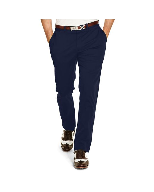 Pink Pony | Blue Stretch Chino Pant for Men | Lyst