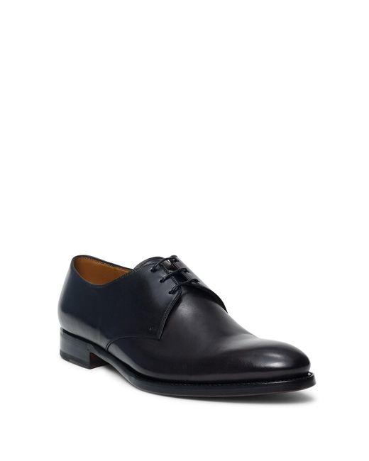 Ralph Lauren | Black Dalvin Calfskin Oxford Shoes for Men | Lyst