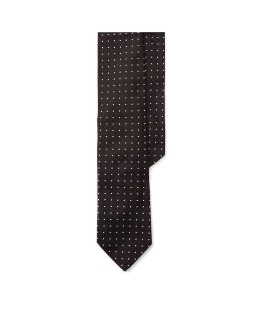 Polo Ralph Lauren | Black Polka-dot Silk Repp Tie for Men | Lyst