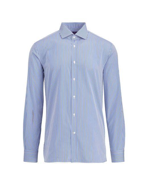 Ralph Lauren Purple Label - Blue Aston Bengal Stripe Shirt for Men - Lyst