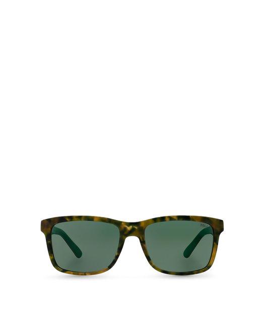 Polo Ralph Lauren | Brown Square Sunglasses for Men | Lyst