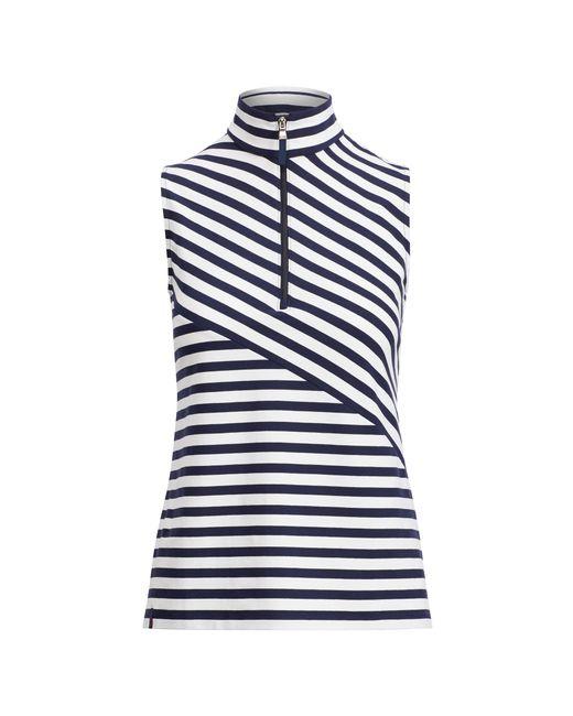 Ralph Lauren Golf | Blue Tailored Fit Striped Golf Polo | Lyst