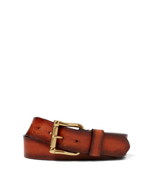 Ralph Lauren - Brown Vachetta Roller-buckle Belt for Men - Lyst