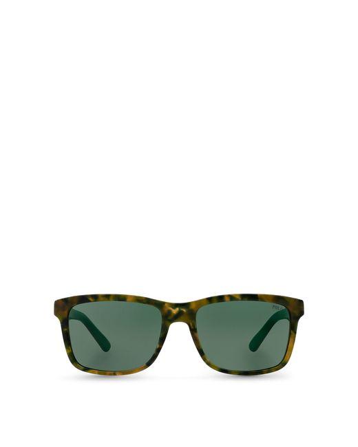 Polo Ralph Lauren - Green Square Sunglasses for Men - Lyst