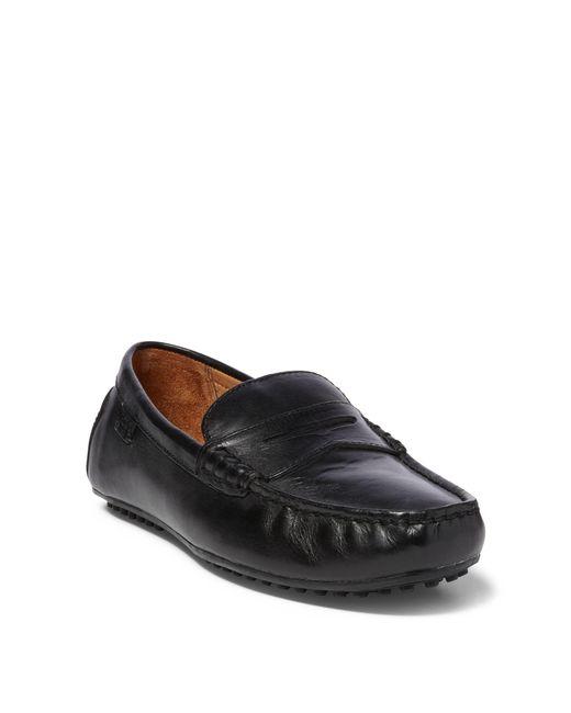 Polo Ralph Lauren - Black Workington Leather Driver for Men - Lyst