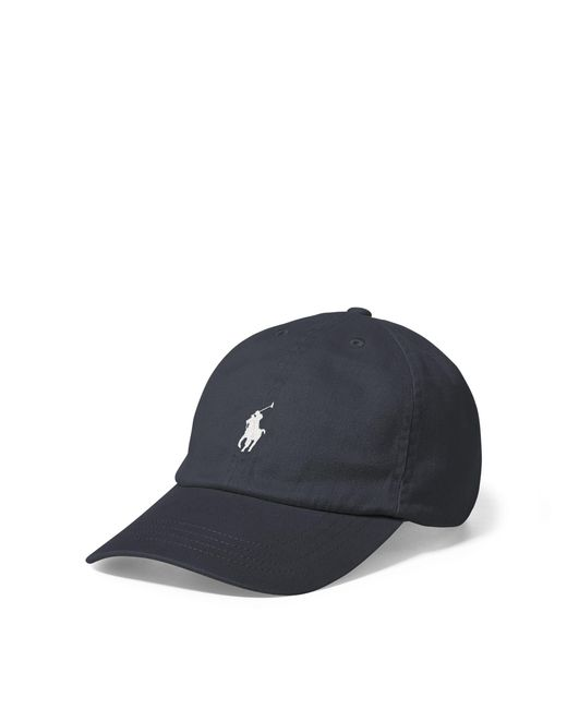 Polo Ralph Lauren | Gray Cotton Chino Baseball Cap for Men | Lyst