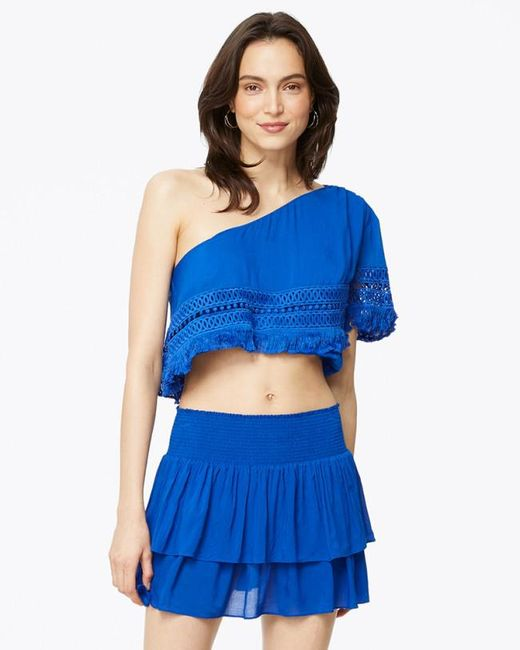 Ramy Brook - Blue Helena Top - Lyst