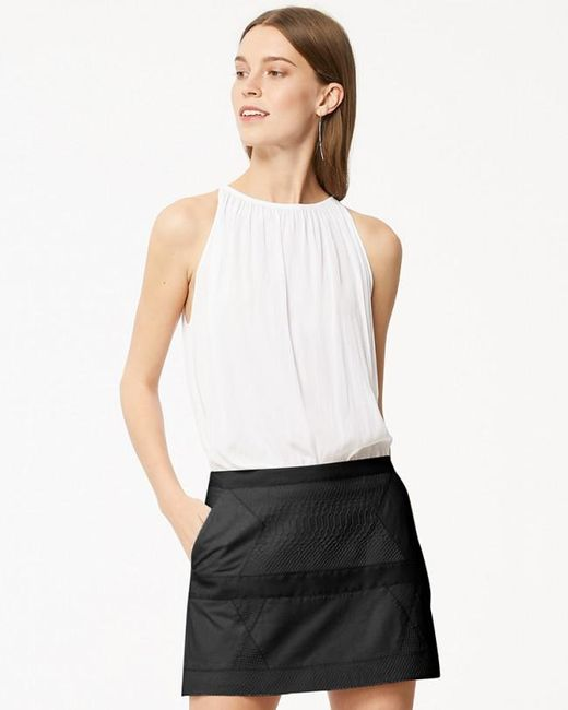 Ramy Brook | Black Kacey Skirt | Lyst