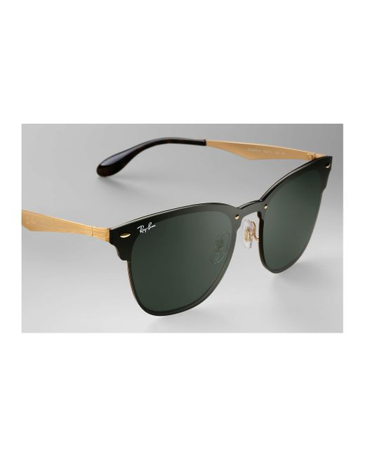 3d444a00d2c ... Ray-Ban - Green Blaze Clubmaster for Men - Lyst ...