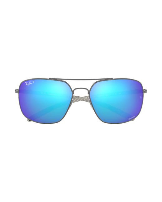 4dda4e93cc3 ... Ray-Ban - Blue Rb8322ch Chromance for Men - Lyst ...