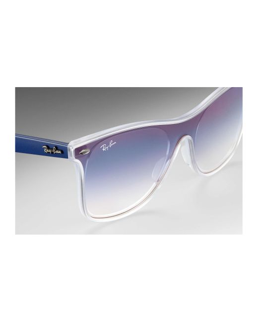 d83ca931b7a ... Ray-Ban - Blue Blaze Wayfarer for Men - Lyst ...