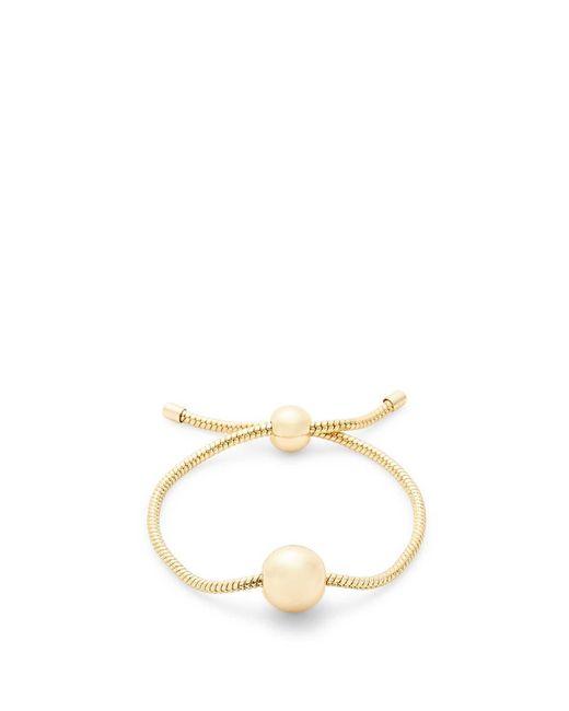 Rebecca Minkoff - Metallic Ball Slider Bracelet - Lyst