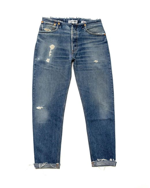 Re/done No Waist Relaxed in Blue
