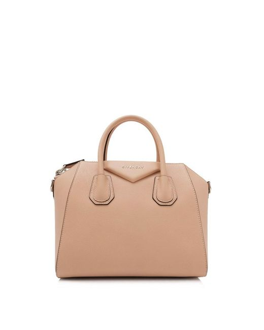 8fe06bef40ab Lyst - Givenchy Small Antigona in Natural - Save 15%