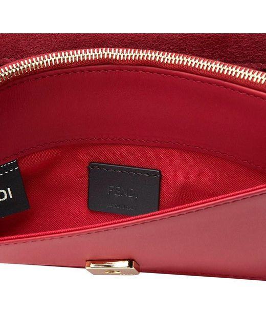 ... Fendi - Red Bag Bug Monster Tote Bag - Lyst efc5a1d68c02f