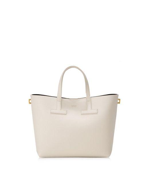 Tom Ford - White Mini T Tote Bag - Lyst