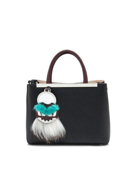 ... Fendi - Black Shopping 2jours Petite Tote - Lyst ... 0db209920c77b