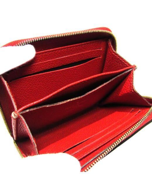 8353721c0d0 ... Louis Vuitton - Red Auth Zippy Wallet Purse Coin Case M60740 Monogram  Empreinte Cerise - Lyst ...