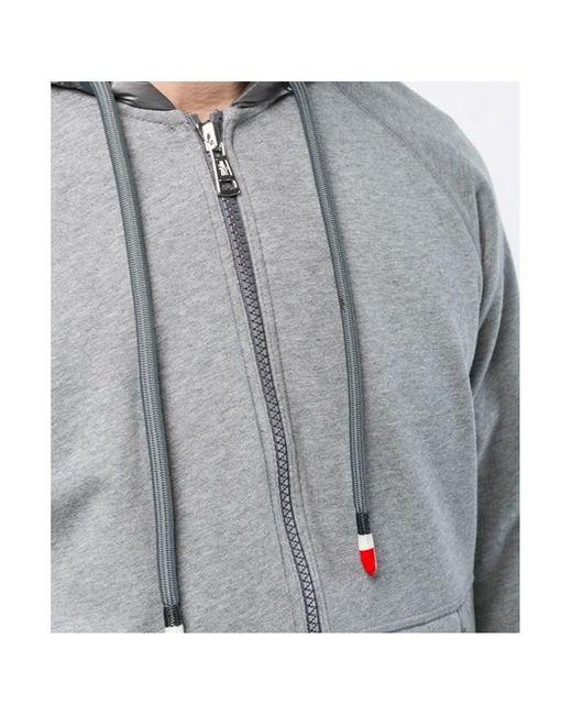 681fcc6ad702 Lyst - Moncler Men s Hood Jacket in Gray for Men