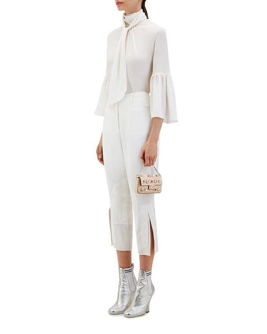 5ab4641da8 ... Fendi - Natural Women's 8m0354sf9f07mj-mcf Beige Leather Handbag ...