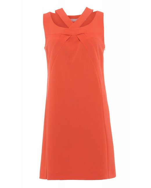 I Blues | Pink Coral Sleeveless Shift 'duello' Dress | Lyst