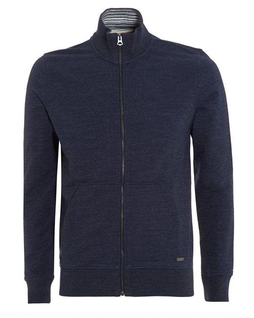 BOSS Orange | Zpandau Sweatshirt, Jersey Navy Blue Track Top for Men | Lyst