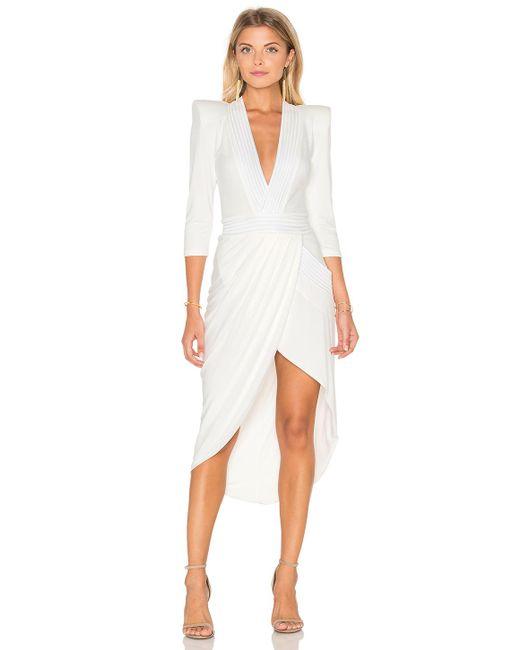 Zhivago - Eye Of Horus Midi Dress In White - Lyst
