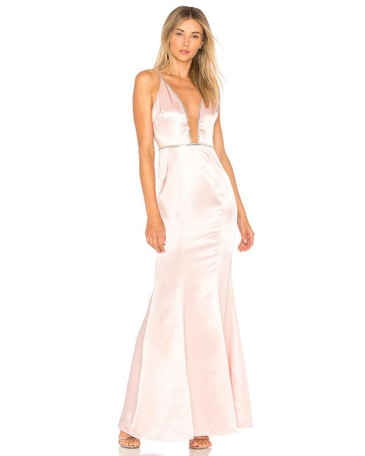 Lovers + Friends - Pink Blair Gown - Lyst