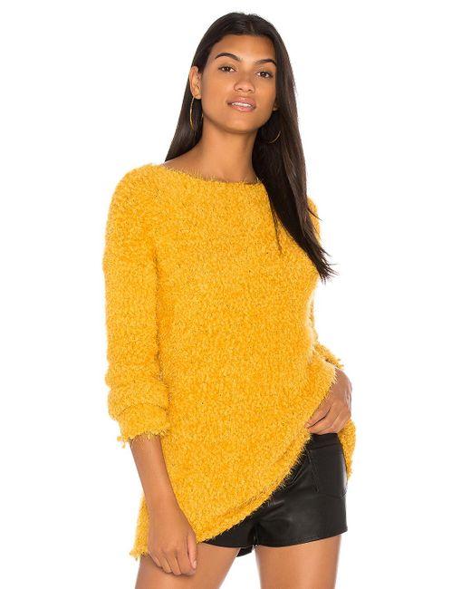 BB Dakota | Yellow Debra Sweater | Lyst