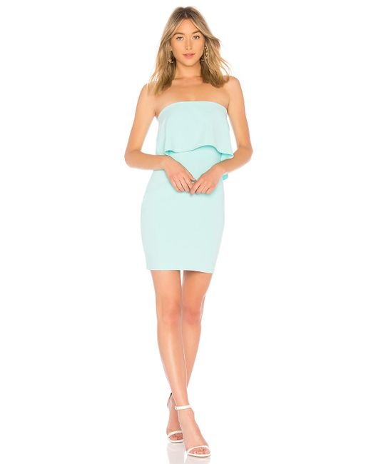 Likely - Mini Driggs Dress In Baby Blue - Lyst