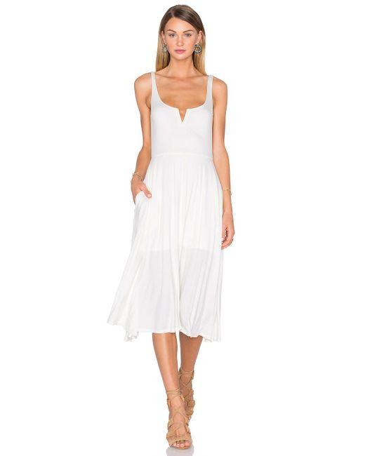 House of Harlow 1960 - White X Revolve Elle Tank Dress - Lyst