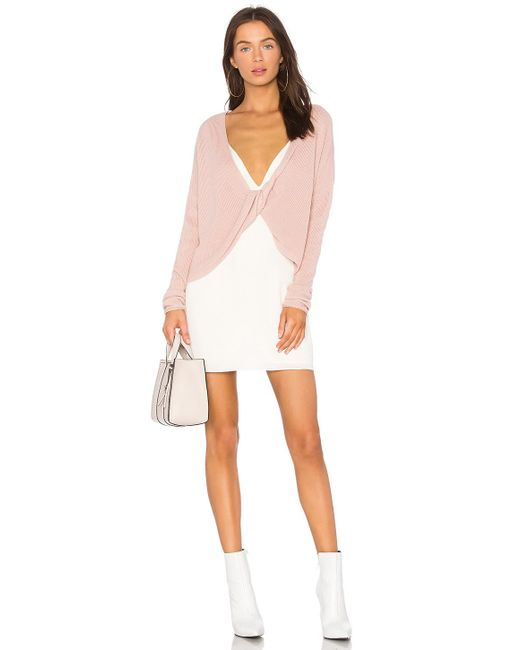 Lovers + Friends - Pink X Revolve Spring Sweater - Lyst
